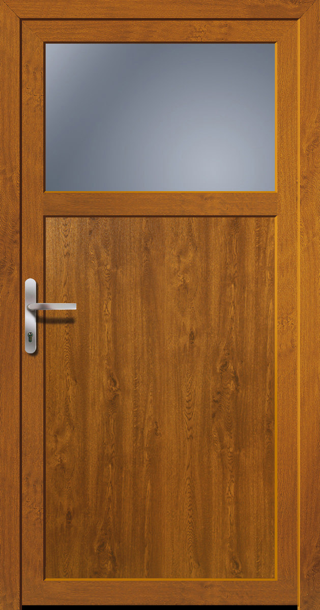 kunststoff nebeneingangst r golden oak doorero k5100h tuerenheld. Black Bedroom Furniture Sets. Home Design Ideas