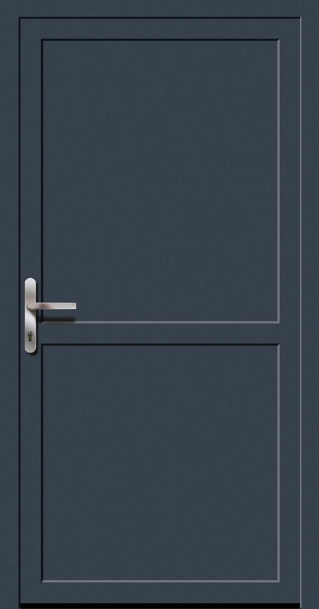 kunststoff nebeneingangst r anthrazitgrau doorero k5600h tuerenheld. Black Bedroom Furniture Sets. Home Design Ideas