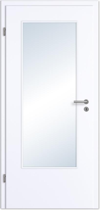 innent r zimmert r wei lack mit gro em lichtausschnitt tuerenheld. Black Bedroom Furniture Sets. Home Design Ideas