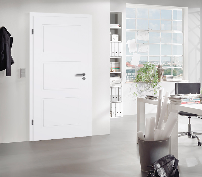 Bekannt Innentüren / Zimmertüren Komplettelemente weiß - Tuerenheld ES67