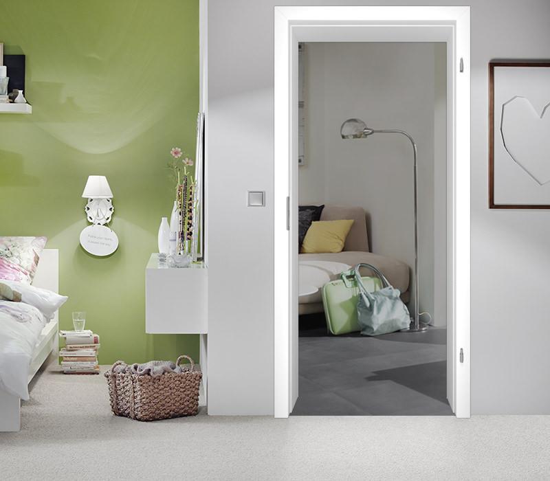 Innentüren weiß mit zarge  Zargen für Innentüren / Zimmertüren - Tuerenheld