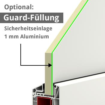 kunststoffhaust r secudoor power 10563p 2 wei tuerenheld. Black Bedroom Furniture Sets. Home Design Ideas