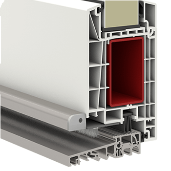 Kunststoffhaustur Secudoor Exclusiv 10620e 2 Weiss Tuerenheld