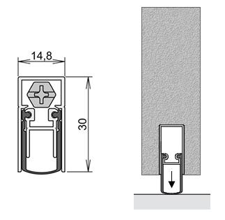 Schallschutztür  Wohnungseingangstür / Schallschutztür Weißlack - Tuerenheld