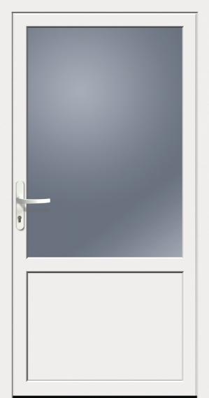 Beliebt Nebeneingangstüren aus Kunststoff - Tuerenheld TZ79