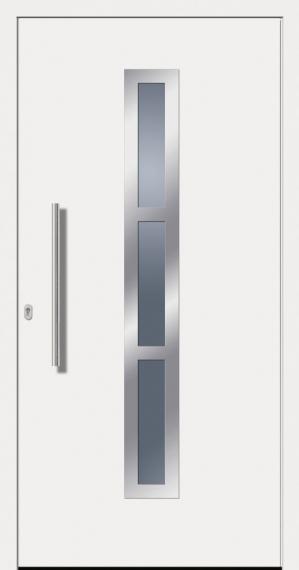 kunststoffhaust r secudoor design 10563d wei tuerenheld. Black Bedroom Furniture Sets. Home Design Ideas