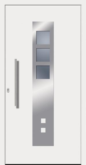 kunststoffhaust r secudoor design 10620d wei tuerenheld. Black Bedroom Furniture Sets. Home Design Ideas