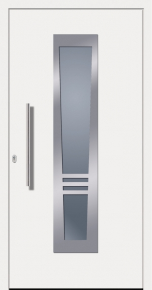 kunststoffhaust r secudoor design 10842d wei tuerenheld. Black Bedroom Furniture Sets. Home Design Ideas