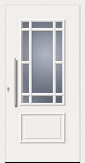 kunststoffhaust r secudoor design 11080d wei tuerenheld. Black Bedroom Furniture Sets. Home Design Ideas