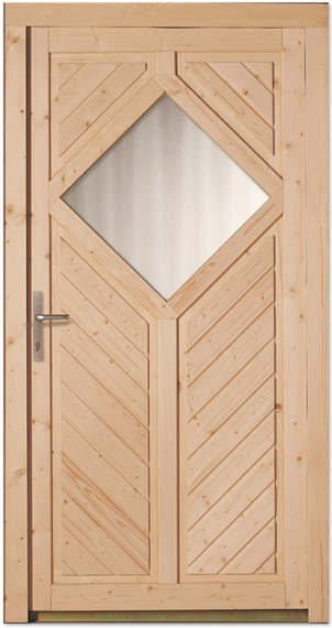 Bekannt Nebeneingangstüren aus Holz - Tuerenheld YA63
