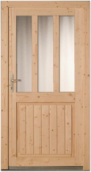 Super Nebeneingangstüren aus Holz - Tuerenheld BN95