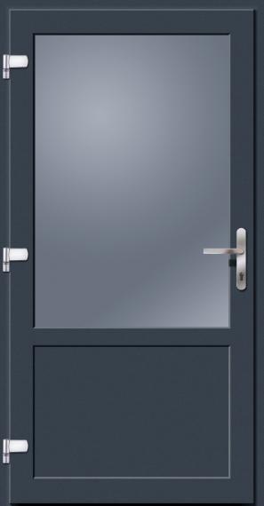 kunststoff nebeneingangst r anthrazitgrau doorero k5300h tuerenheld. Black Bedroom Furniture Sets. Home Design Ideas