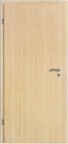 Wohnungseingangstür CPL Ahorn Designkante Klimaklasse 2 Schallschutz 1 S32 198,5