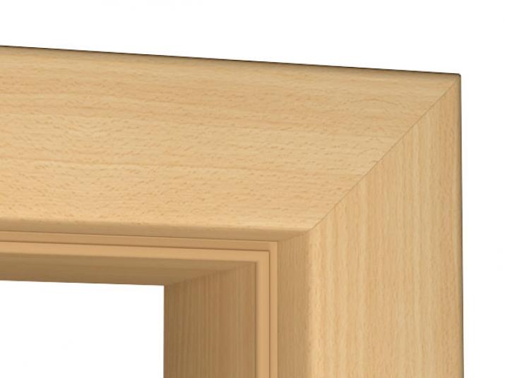 zarge buche cpl rundkante tuerenheld. Black Bedroom Furniture Sets. Home Design Ideas
