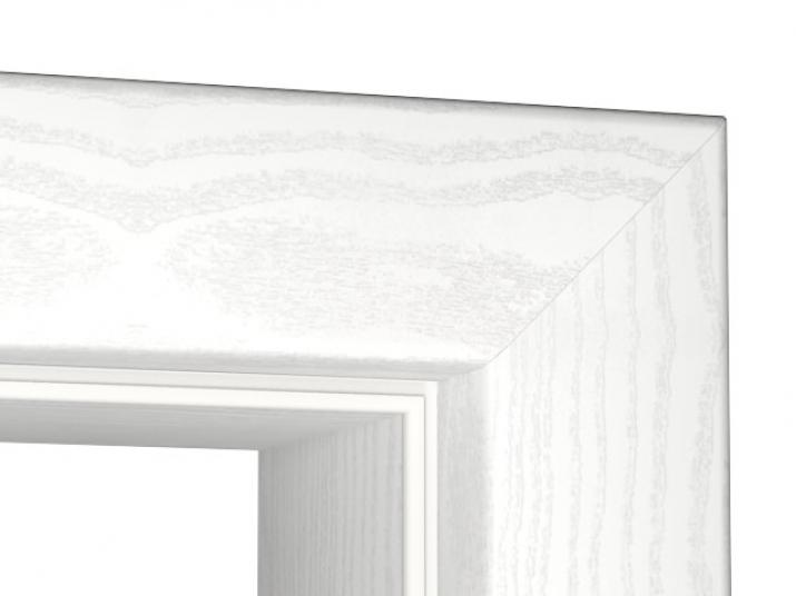 zarge esche wei cpl rundkante tuerenheld. Black Bedroom Furniture Sets. Home Design Ideas