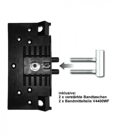 Unterschiedlich WE-Tür Zarge CPL Esche weiß Rundkante - Tuerenheld TP63