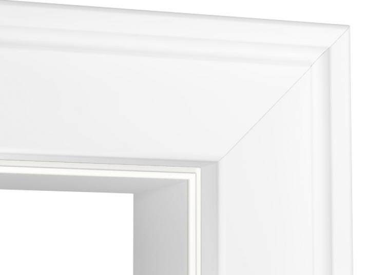 Türzarge detail  Profilzarge XL Weißlack - Tuerenheld
