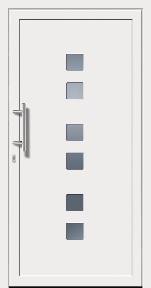 Kunststoffhaustür SecuDoor Power 10080P Weiß