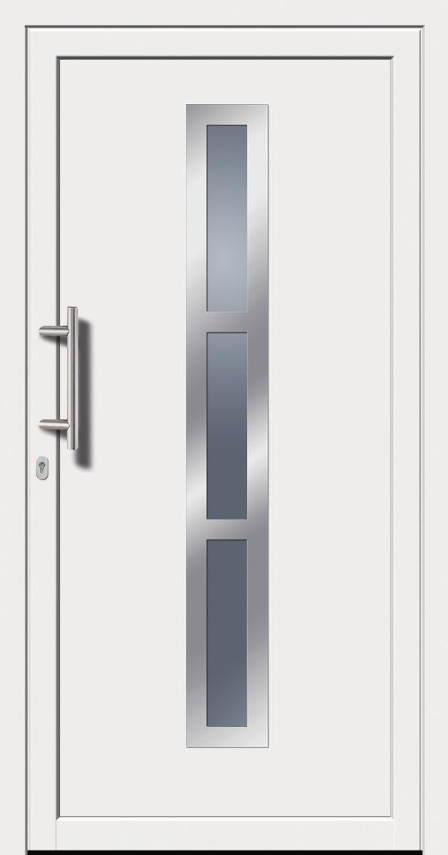 kunststoffhaust r secudoor exclusiv 10563e wei tuerenheld. Black Bedroom Furniture Sets. Home Design Ideas