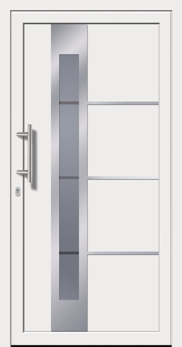 kunststoffhaust r secudoor exclusiv 10841e 2 wei tuerenheld. Black Bedroom Furniture Sets. Home Design Ideas