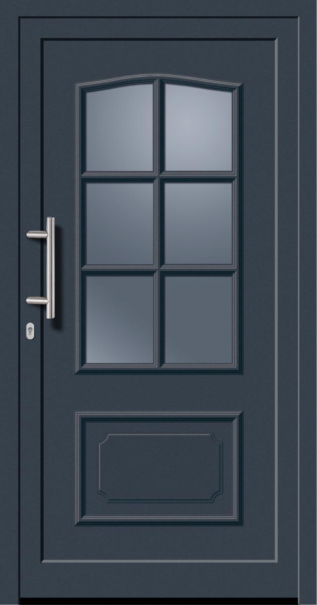 kunststoffhaust r secudoor exclusiv 11020e anthrazit tuerenheld. Black Bedroom Furniture Sets. Home Design Ideas