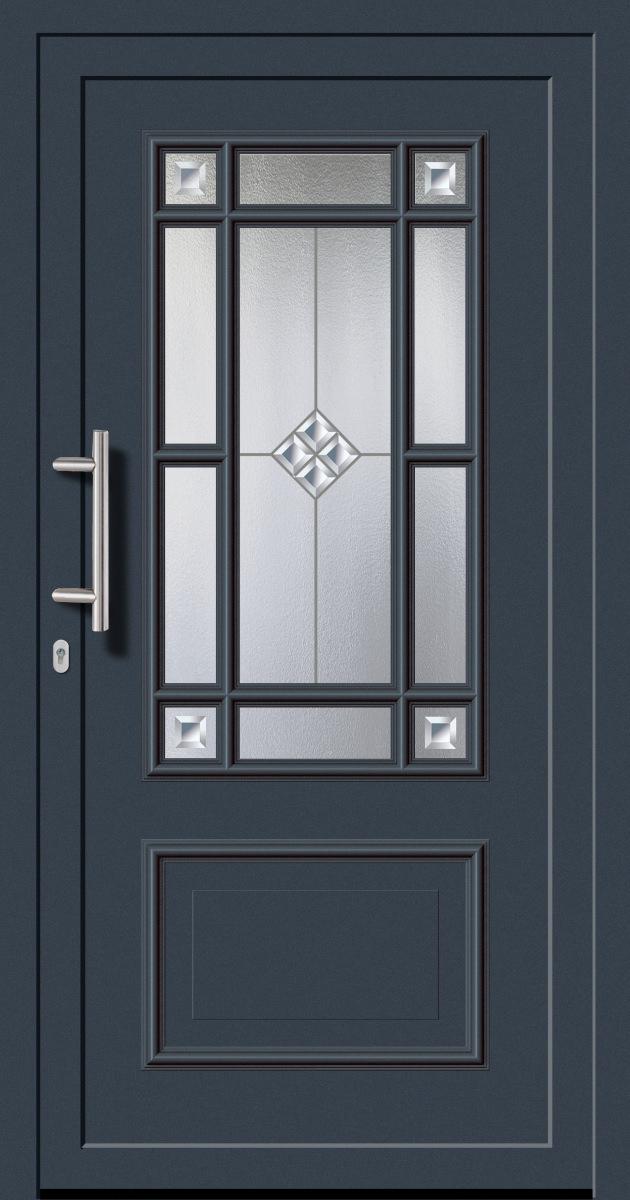 kunststoffhaust r secudoor exclusiv 11080e 2 anthrazit tuerenheld. Black Bedroom Furniture Sets. Home Design Ideas