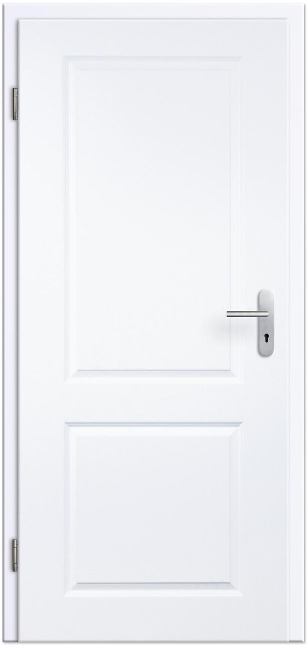 Wohnungseingangstür weiß  Stil-Wohnungseingangstür / Schallschutztür Blanco 1FS Weißlack ...
