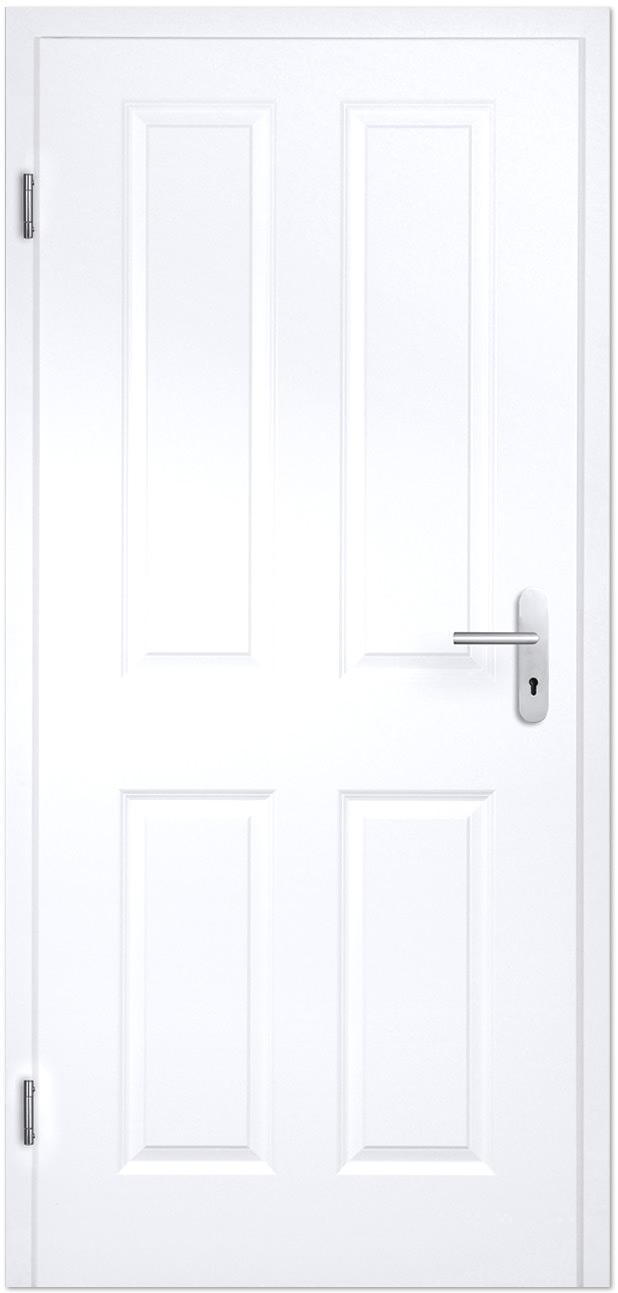 Wohnungseingangstür weiß  Stil Wohnungseingangs- und Schallschutztüren in weiß - Tuerenheld