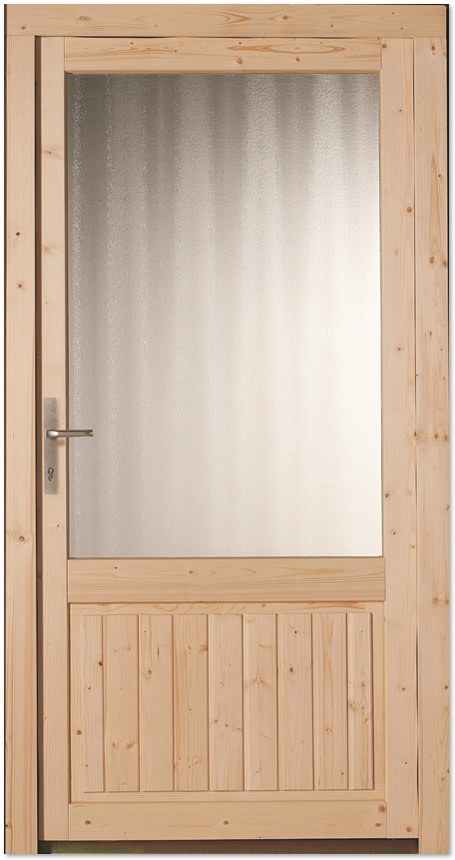 holz nebeneingangst r fichte astig roh doorero h2300 tuerenheld. Black Bedroom Furniture Sets. Home Design Ideas
