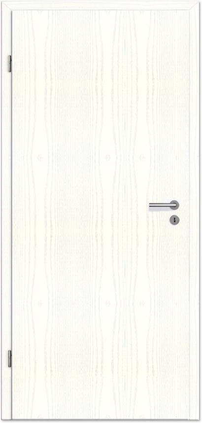 Innentüren weiß  Innentür / Zimmertür Eco Dekor Esche weiß offenporig - Tuerenheld