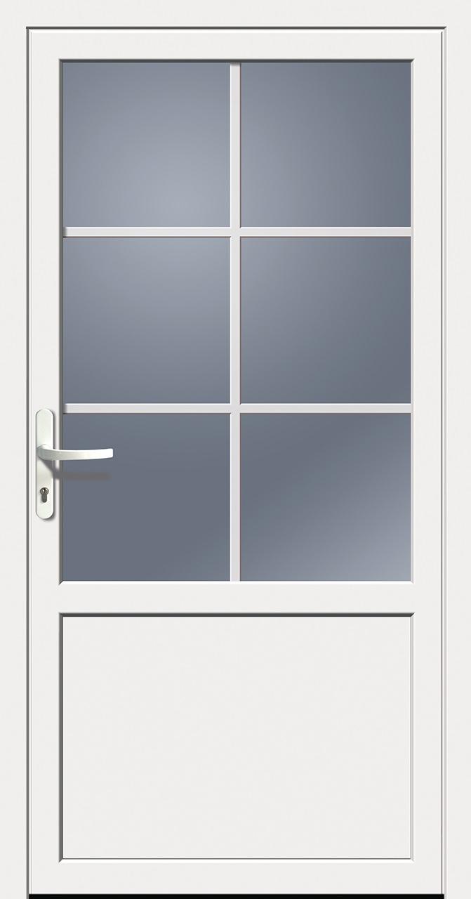 kunststoff nebeneingangst r wei doorero k5800h tuerenheld. Black Bedroom Furniture Sets. Home Design Ideas