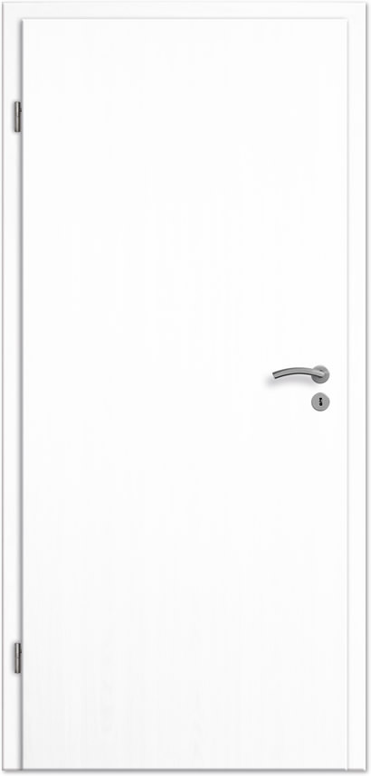 Innentüren weiß preise  Innentür / Zimmertür Esche weiss deckend CPL - Tuerenheld