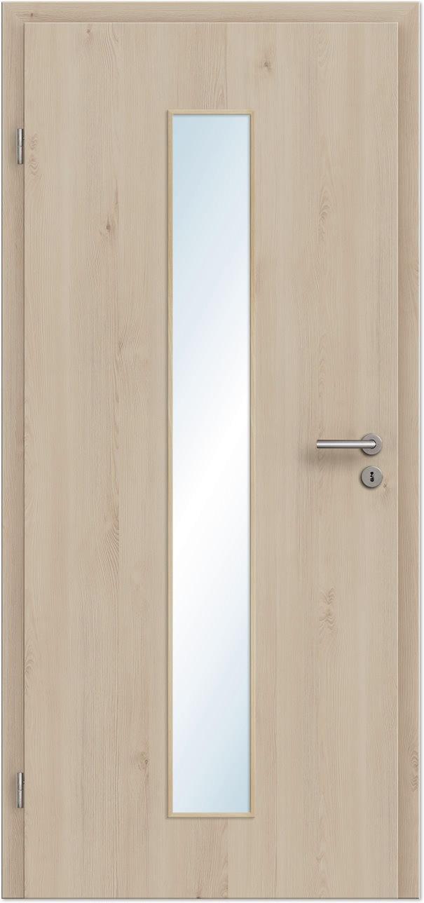innent r zimmert r pinie light cpl mit schmalem lichtausschnitt tuerenheld. Black Bedroom Furniture Sets. Home Design Ideas