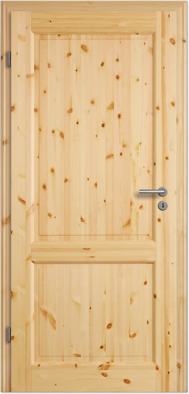 Innentüren mit glas landhaus  Landhaus-Innentür Rustiko 1FS roh - Tuerenheld