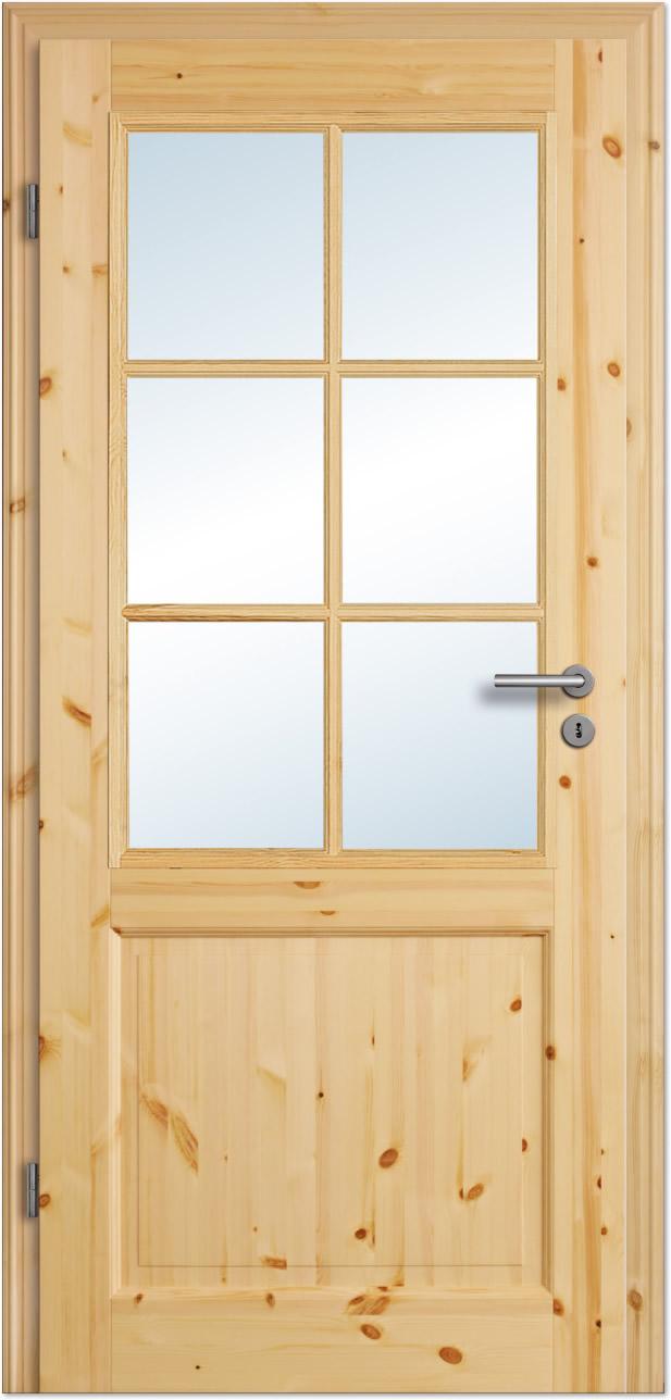 landhaus innent r rustiko 5fs lackiert mit esg glas und sprossen tuerenheld. Black Bedroom Furniture Sets. Home Design Ideas