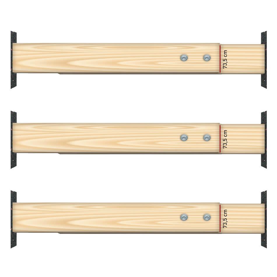 Türspreizen Set (3 Stück) für Zargeneinbau - Tuerenheld