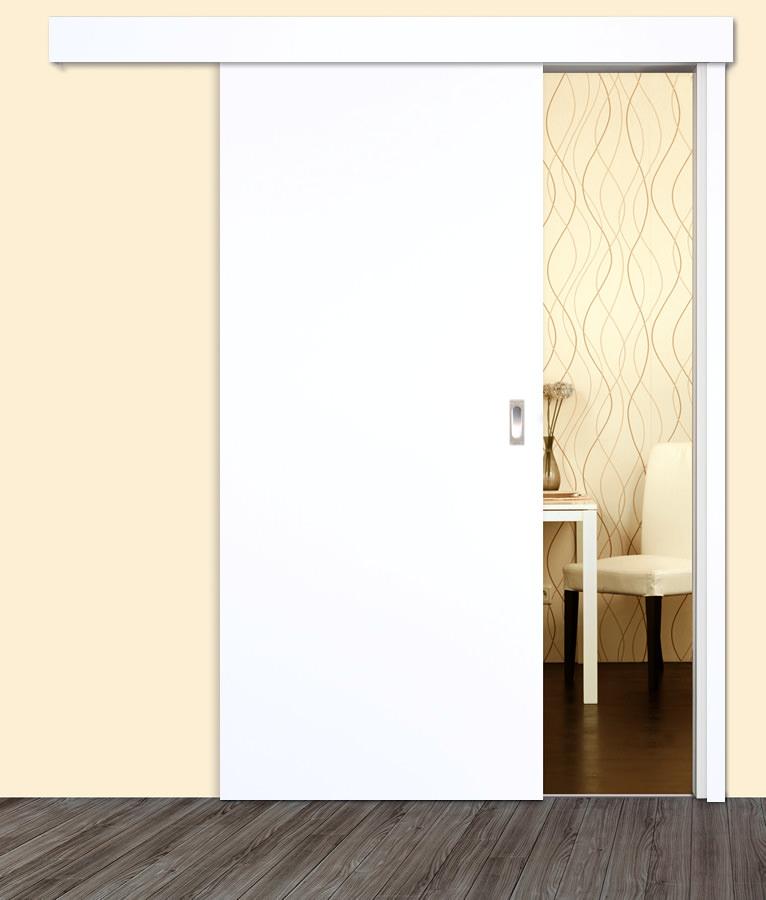 cpl uniwei 9016 schiebet r mit zarge eckige kante. Black Bedroom Furniture Sets. Home Design Ideas