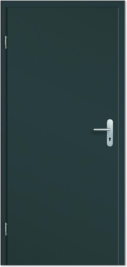 Zimmertüren anthrazit  Wohnungseingangstür / Schallschutztür CPL Anthrazitgrau - Tuerenheld