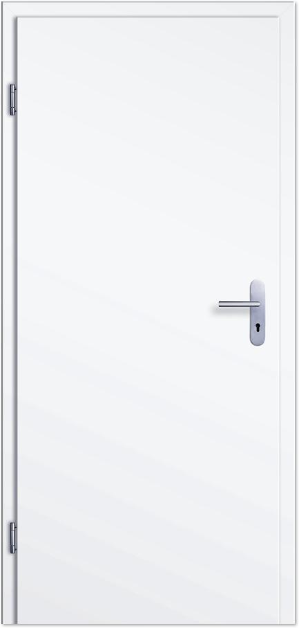 Top Wohnungseingangstür / Schallschutztür CPL Weißlack - Tuerenheld XT43