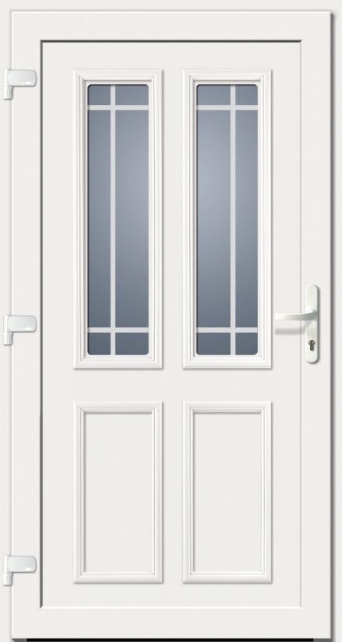 kunststoffhaust r secudoor exclusiv 10280e wei tuerenheld. Black Bedroom Furniture Sets. Home Design Ideas
