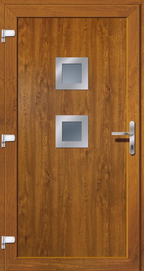 kunststoffhaust r secudoor exclusiv 10529e golden oak tuerenheld. Black Bedroom Furniture Sets. Home Design Ideas